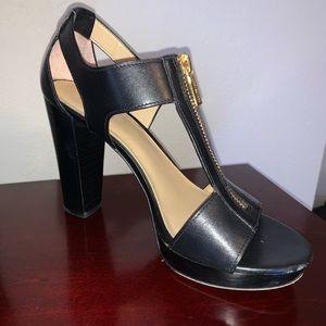 Michael Kors Berkeley Platform Sandal Blk leather